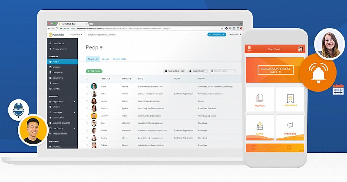 appsforevents.org eventmobi event management software eventmobi pantalla