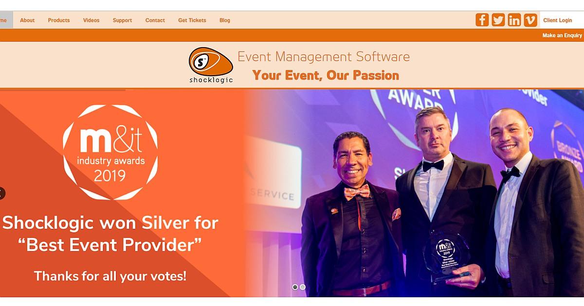 appsforevents.org shocklogic event management software shocklogic app
